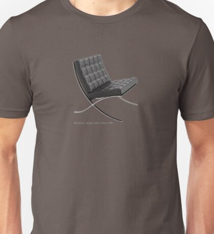 Barcelona chair Unisex T-Shirt