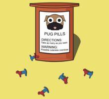 Pugs but drugs Kids Tee