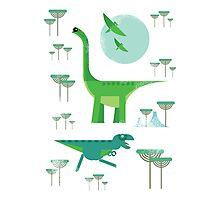 Dinos Photographic Print