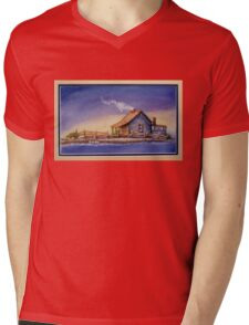"""""""IN FOR THE NIGHT"""" Mens V-Neck T-Shirt"""