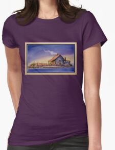 """""""IN FOR THE NIGHT"""" Womens Fitted T-Shirt"""