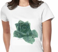 A Little Bird Whispered To Me - Digital Rose Womens Fitted T-Shirt