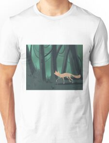 Slinky Fox Unisex T-Shirt