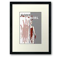 Gone Girl Framed Print