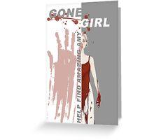 Gone Girl Greeting Card