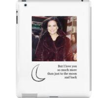 I love you more... iPad Case/Skin