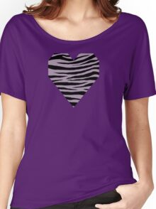 0587 Rose Quartz, London Hue or Heliotrope Gray Tiger Women's Relaxed Fit T-Shirt