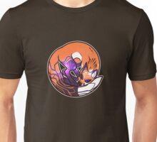 Fox Galaxy Eyes Unisex T-Shirt