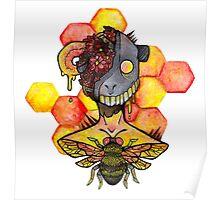 honey bee.  Poster