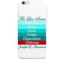 The Lux Series Spines iPhone Case/Skin