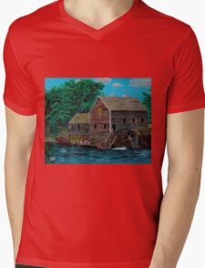 The Water Mill Mens V-Neck T-Shirt