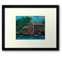 The Water Mill Framed Print