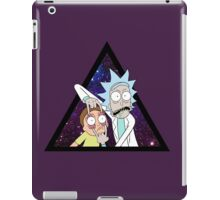 Rick and morty space V2. iPad Case/Skin