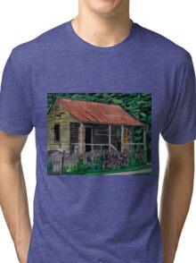 Little Cabins Tri-blend T-Shirt