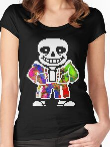Sans <3 Women's Fitted Scoop T-Shirt
