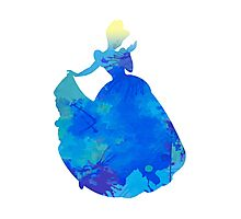 Princess Inspired Silhouette Photographic Print