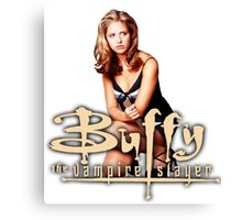 Buffy, The vampire slayer Canvas Print