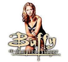 Buffy, The vampire slayer Photographic Print