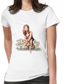 Buffy, The vampire slayer Womens Fitted T-Shirt