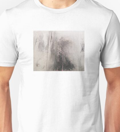 Abstract - Ink and pigments on Chinese paper Unisex T-Shirt
