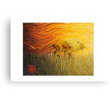 Lion Tribute Canvas Print