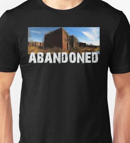 Abandoned Brick Hospital Unisex T-Shirt
