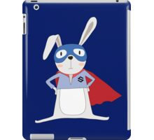 Cute Cartoon Animals Bunny Rabbit Super Hero iPad Case/Skin