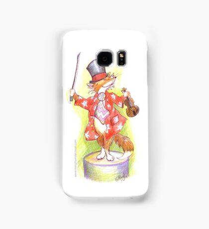 Fantastic Mr Foxy on the violin Samsung Galaxy Case/Skin