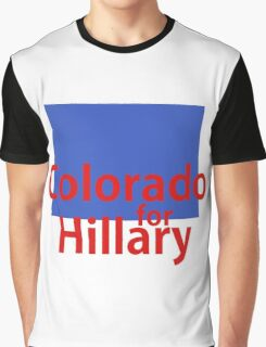 Colorado for Hillary Graphic T-Shirt