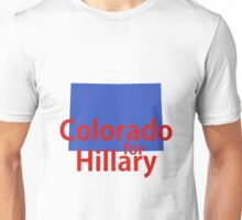 Colorado for Hillary Unisex T-Shirt