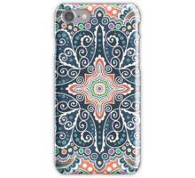 Pattern of spirals, swirls, chains iPhone Case/Skin