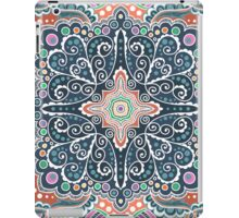 Pattern of spirals, swirls, chains iPad Case/Skin