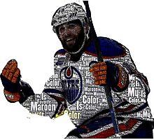 "Edmonton Oilers ""My Favorite Color is (Patrick) Maroon"" Photographic Print"