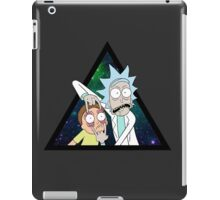 Rick and morty space V4. iPad Case/Skin