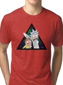 Rick and morty space V4. Tri-blend T-Shirt