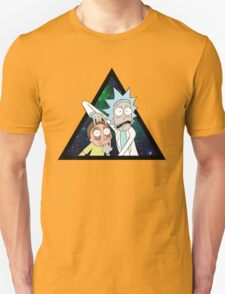 Rick and morty space V4. Unisex T-Shirt