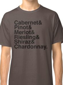 Winos_ Vintage Black Classic T-Shirt