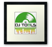 DJ TOOLS Framed Print