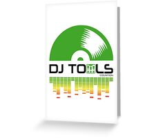 DJ TOOLS Greeting Card