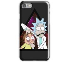 Rick and morty space V5. iPhone Case/Skin