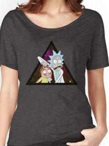 Rick and morty space V5. Women's Relaxed Fit T-Shirt