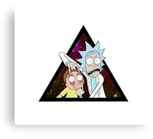 Rick and morty space V5. Canvas Print