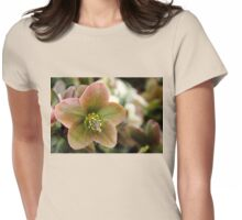 Lenten Hellebore Womens Fitted T-Shirt
