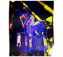 Drummer Rod Lincoln Poster