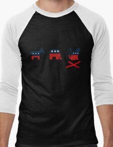 The Cat Party Men's Baseball ¾ T-Shirt