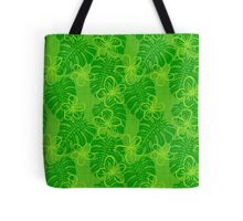 The Garden's Edge - Green Tote Bag