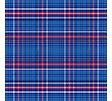 pattern Scottish tartan Army Photographic Print