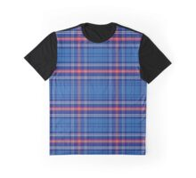 pattern Scottish tartan Army Graphic T-Shirt