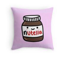 Nutella Cartoon  Throw Pillow