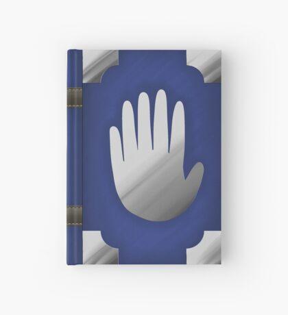 Gravity Falls Inspired Handprint Journal, BLUE Hardcover Journal